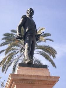 El monumento a Luis Daóiz
