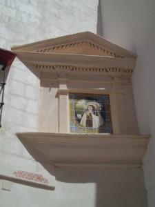 El retablo cerámico de Santa Teresa de Jesús, del Convento de las Teresas