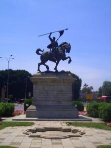 El monumento al Cid Campeador