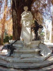 El monumento a Gustavo Adolfo Bécquer