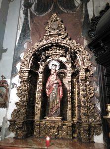 La leyenda de la Virgen de las Fiebres