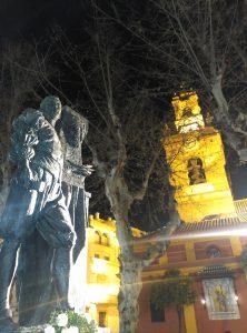 El monumento a Juan de Mesa