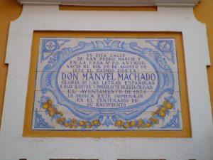 La casa natal de Manuel Machado