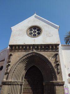 La puerta ojival de Santa Catalina