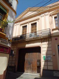El antiguo Convento Cuartel del Carmen