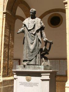 El monumento a Maese Rodrigo Fernández de Santaella