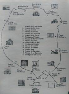 Las antiguas puertas y postigos de Sevilla