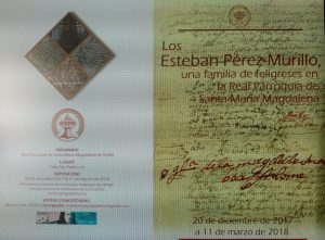 """Exposición """"Los Esteban Pérez-Murillo, una familia de feligreses en la Real Parroquia de Santa María Magdalena"""""""