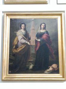 Las santas patronas, Justa y Rufina, de Bartolomé Esteban Murillo