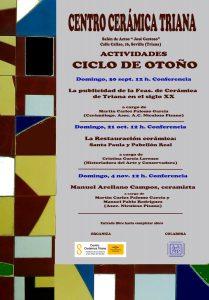 """Conferencia """"Manuel Arellano Campos, ceramista"""""""