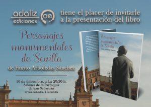 """Presentación del libro """"Personajes monumentales de Sevilla"""""""