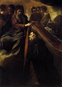 La imposición de la casulla a San Ildefonso, de Velázquez