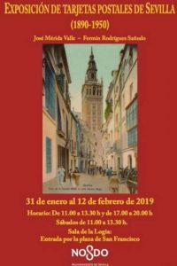 """Exposición """"Tarjetas postales de Sevilla (1890-1950)"""""""