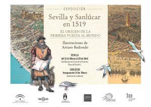 """Exposición """"Sevilla y Sanlúcar en 1519. El origen de la Primera Vuelta al Mundo"""""""