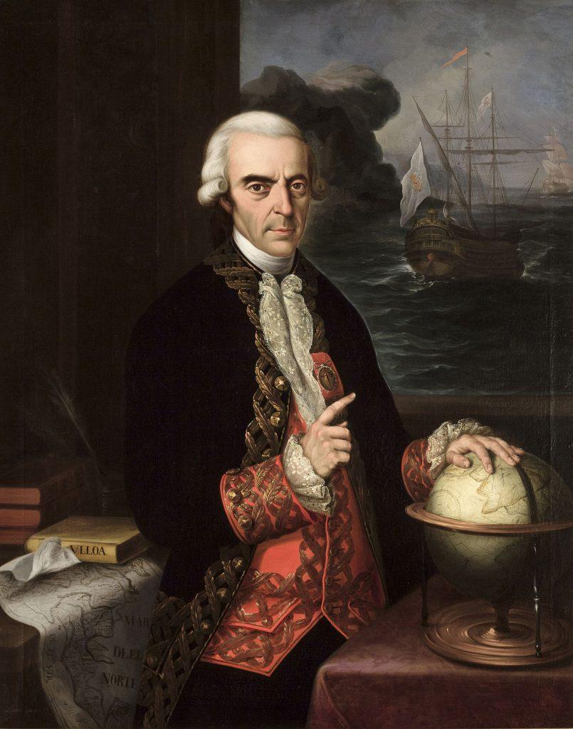 ¿Quién era Antonio de Ulloa?