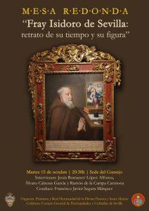 Mesa redonda Fray Isidoro de Sevilla: retrato de su tiempo y su figura