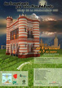 Belén de la Solidaridad (Costurero de la Reina, Palacio de San Telmo, y Pasarela)