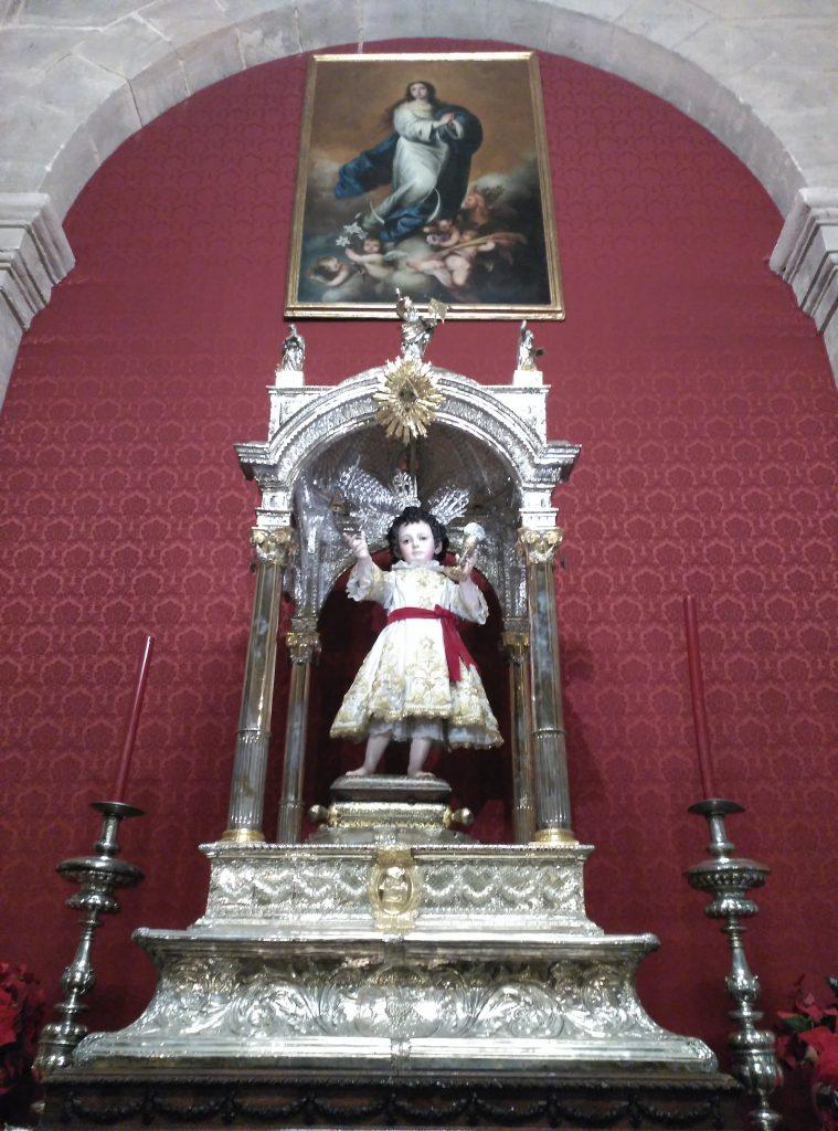 El Niño Jesús de la Parroquia del Sagrario