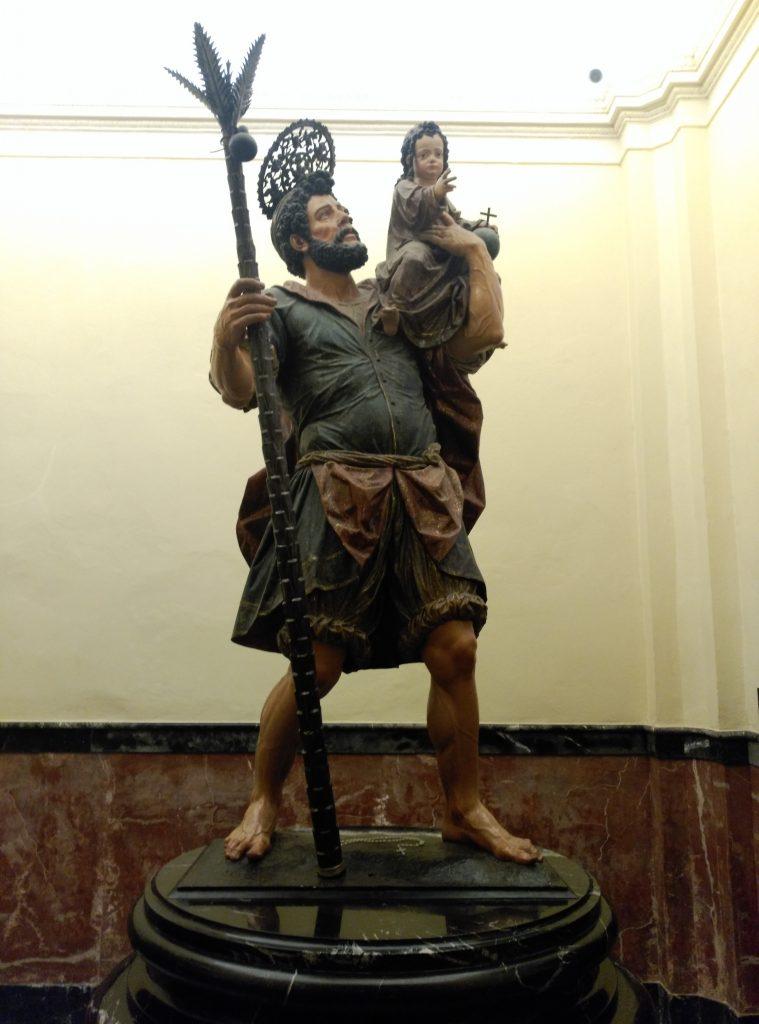 San Cristóbal con el Ñino Jesús
