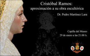 """Conferencia """"Cristóbal Ramos: aproximación a su obra escultórica"""""""