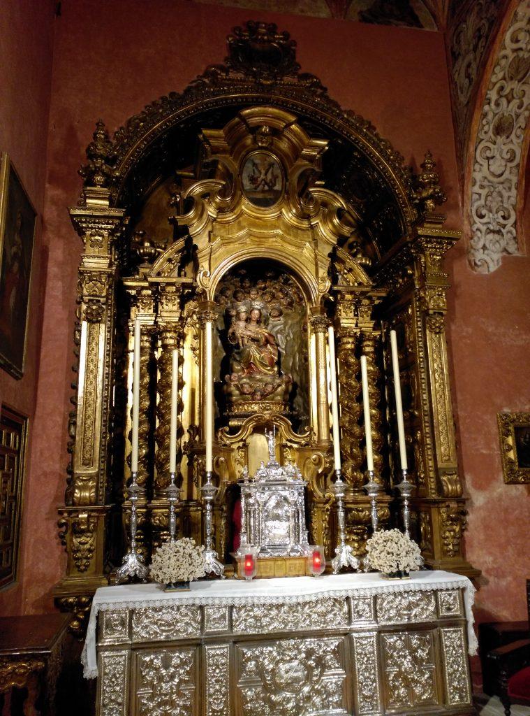 La Capilla Sacramental de la Parroquia de San Andrés
