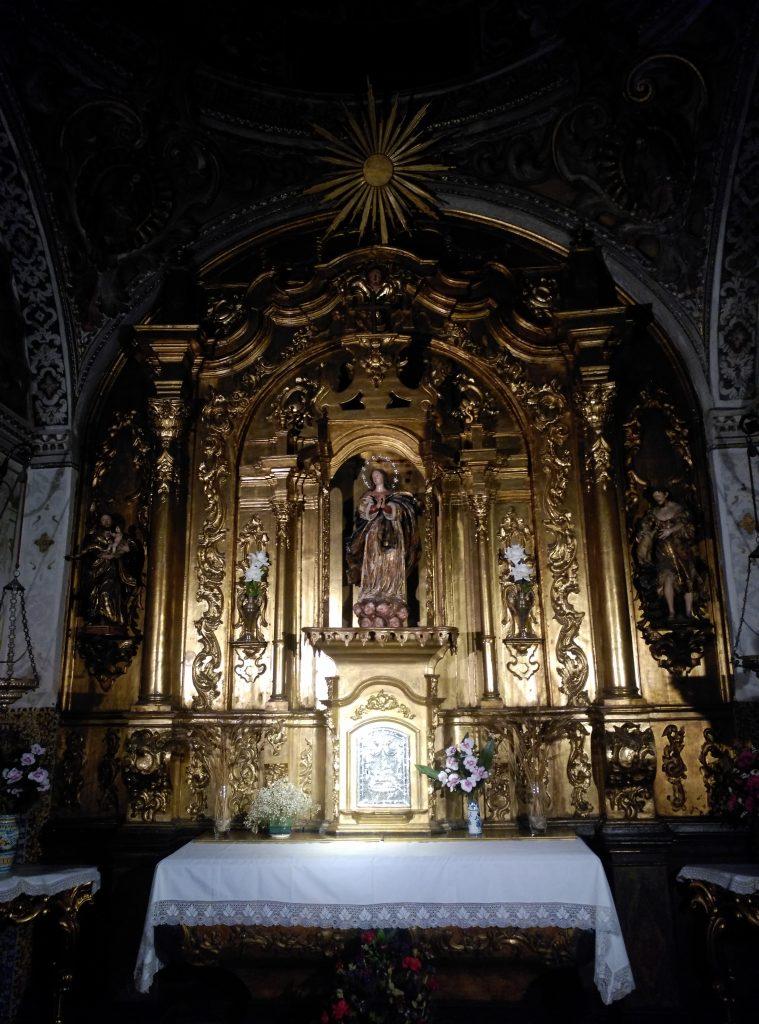 La Capilla Sacramental de la Parroquia de San Esteban
