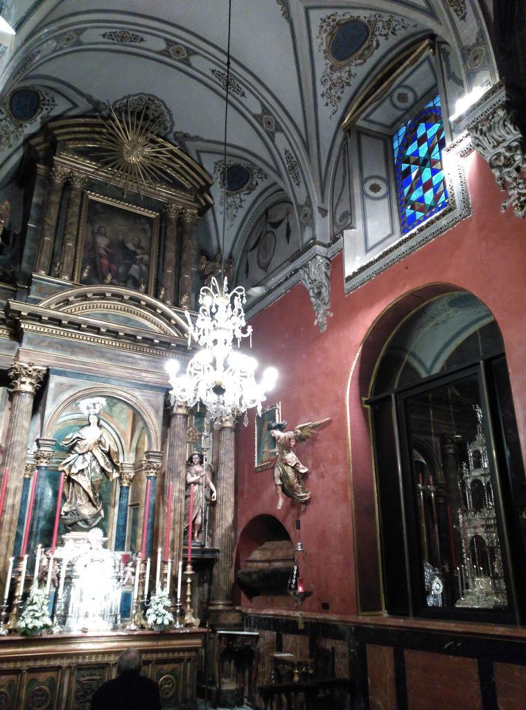 La Capilla Sacramental de la Parroquia de la Magdalena