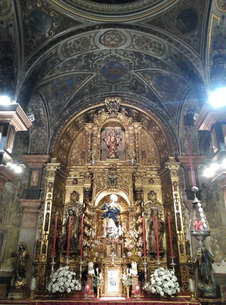La Capilla Sacramental de la Parroquia de San Lorenzo