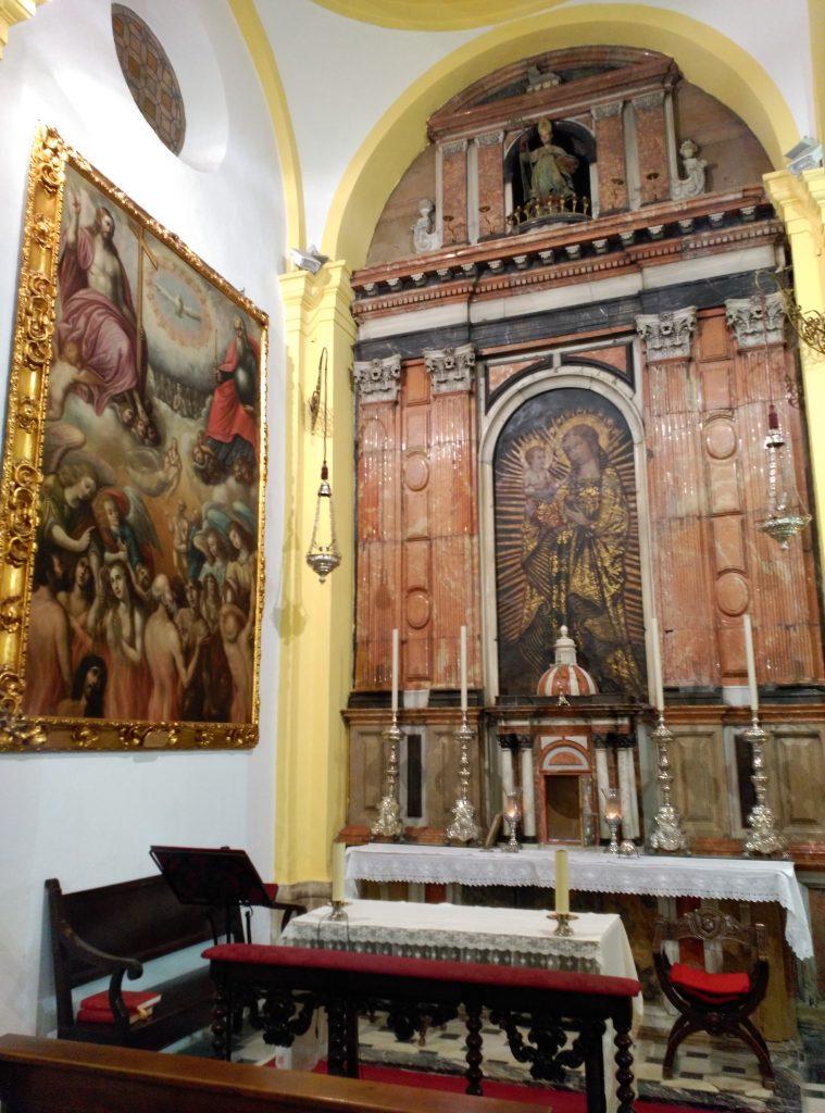 La Virgen del Coral, de la Parroquia de San Ildefonso