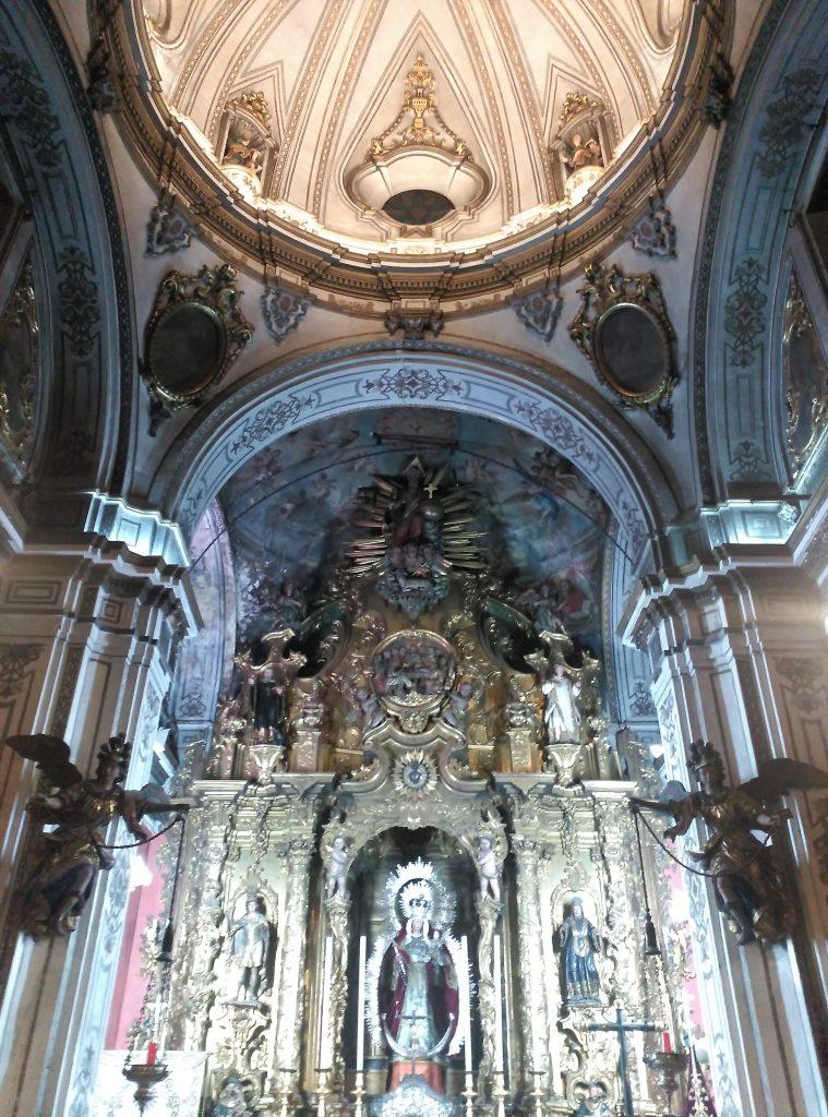 La Capilla Sacramental de la Parroquia de San Vicente