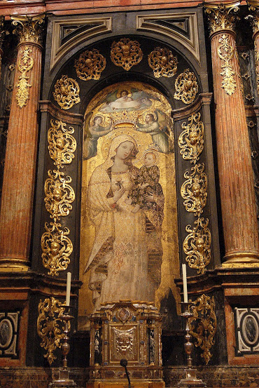 La Virgen de la Antigua, de la Catedral