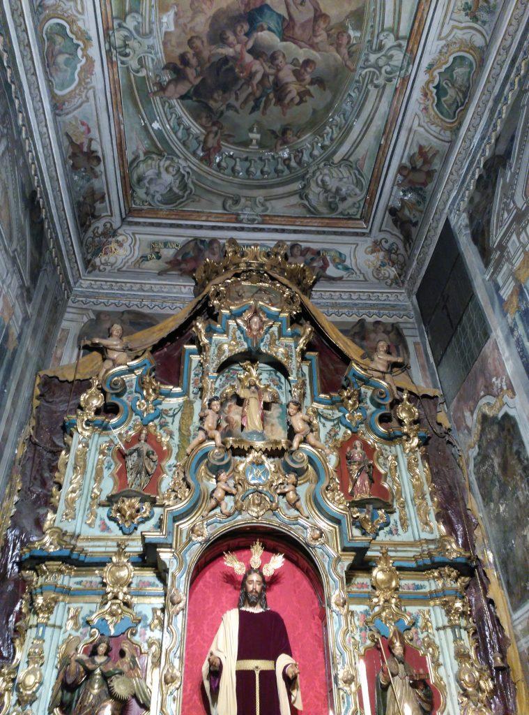 La Capilla Sacramental de la Iglesia de Santiago