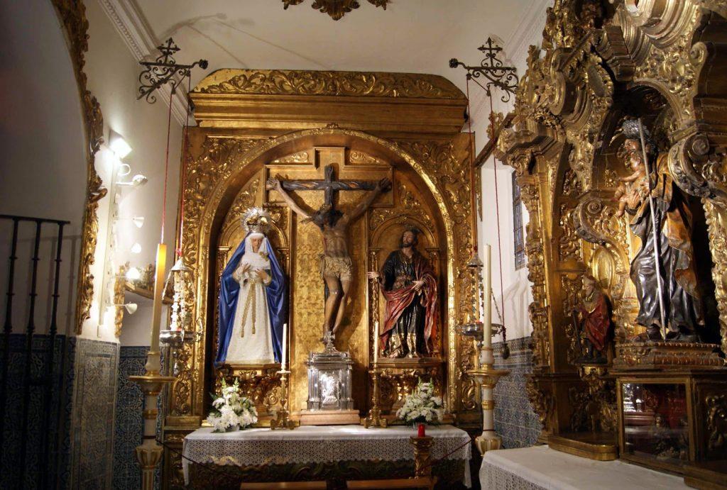 La Capilla Sacramental de la Iglesia de Santa María la Blanca