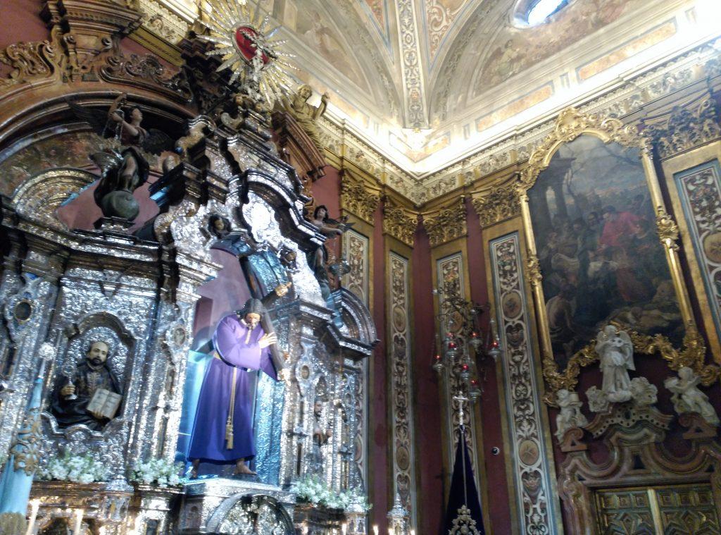 La Capilla Sacramental de la Iglesia del Salvador