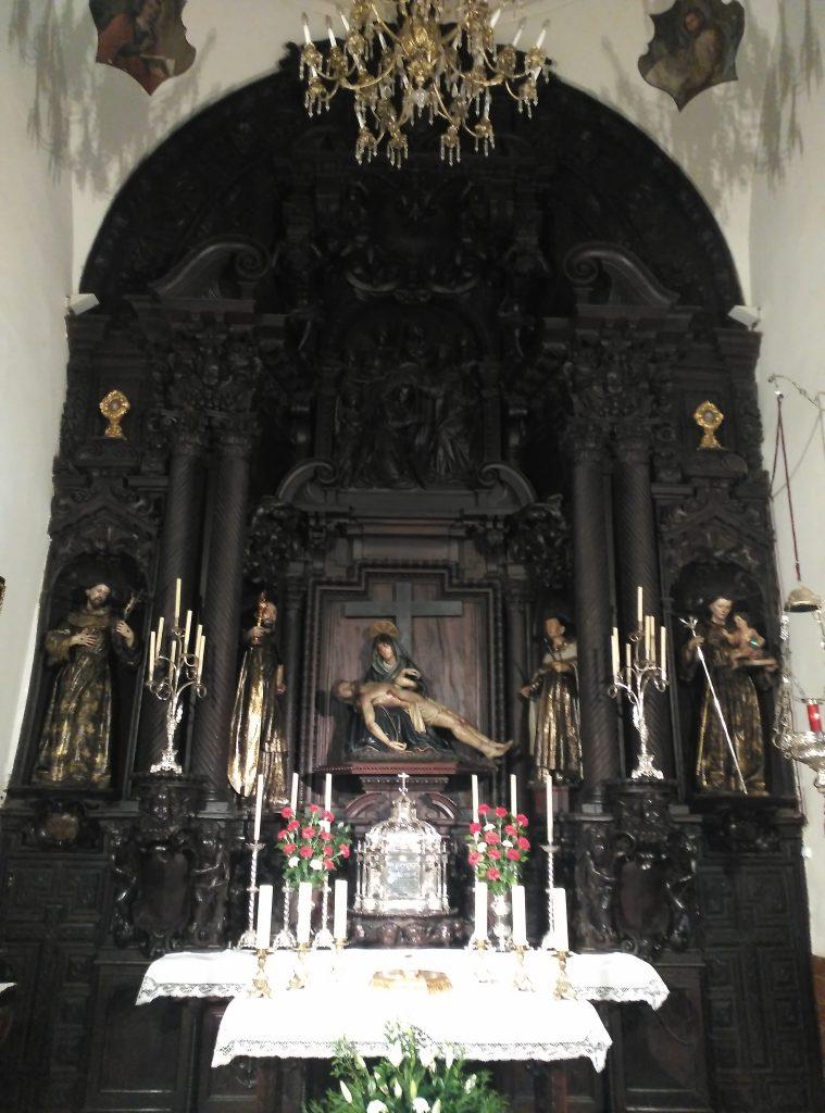 La Capilla Sacramental de la Parroquia de San Bartolomé