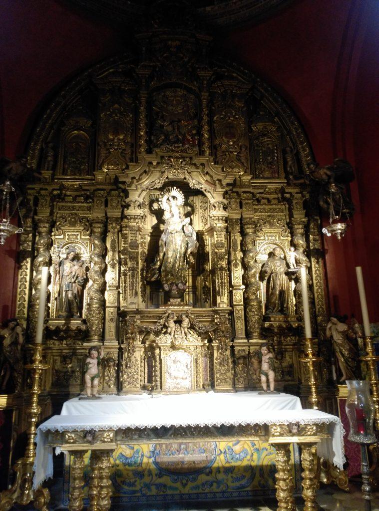 La Capilla Sacramental de la Parroquia de Santa Ana