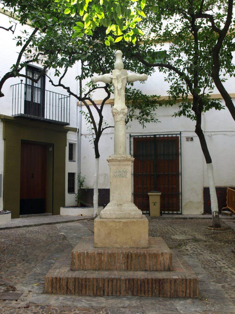La Cruz de la Plaza de Santa Marta o Crucero de San Lázaro