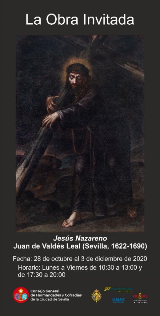 """Exposición del cuadro """"Jesús Nazareno"""" de Juan de Valdés Leal"""