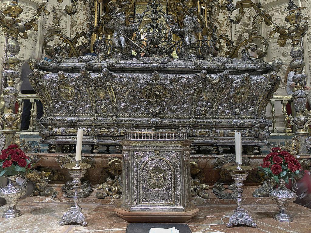 La urna del Rey San Fernando