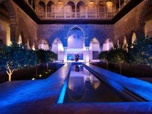 Visitas nocturnas teatralizadas al Real Alcázar dedicadas a Alfonso X el Sabio