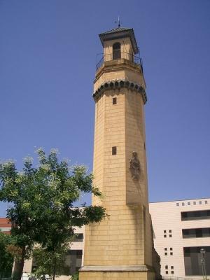 01 Torre del pabellón de Córdoba