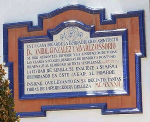 03 Azulejo en la casa de la viuda de Aníbal González